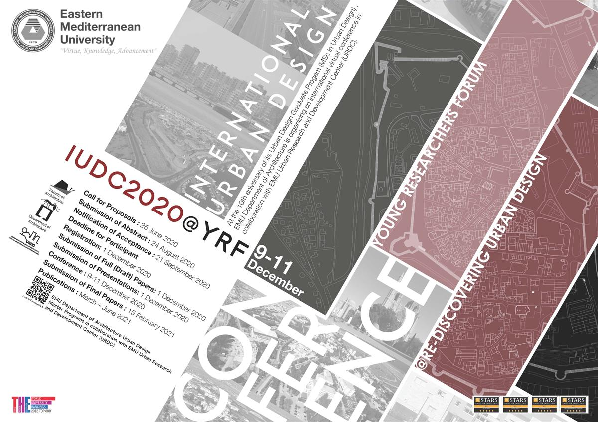 Invitation to International Virtual Urban Design Conference - 09 - 11 December 2020